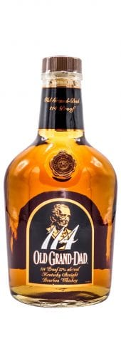 Old Grand Dad Bourbon Whiskey 114 Proof 750ml