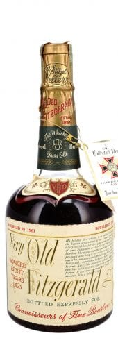 1961 Old Fitzgerald Bourbon Whiskey 8 Year Old, Stitzel Weller 750ml