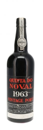 1963 Quinta do Noval Vintage Port 750ml
