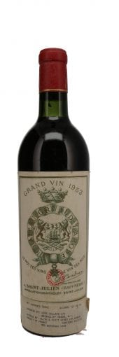 1953 Chateau Gruaud Larose 750ml