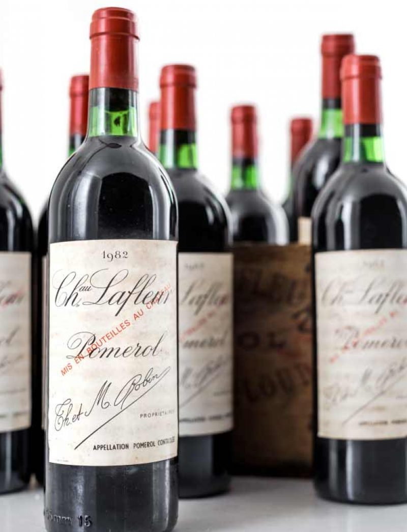 Lot 350: 12 bottles 1982 Chateau Lafleur in OWC