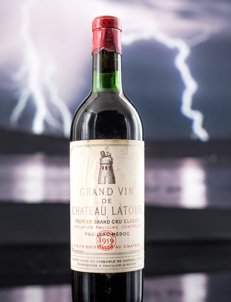 Lot 13: 1 bottle 1959 Chateau Latour