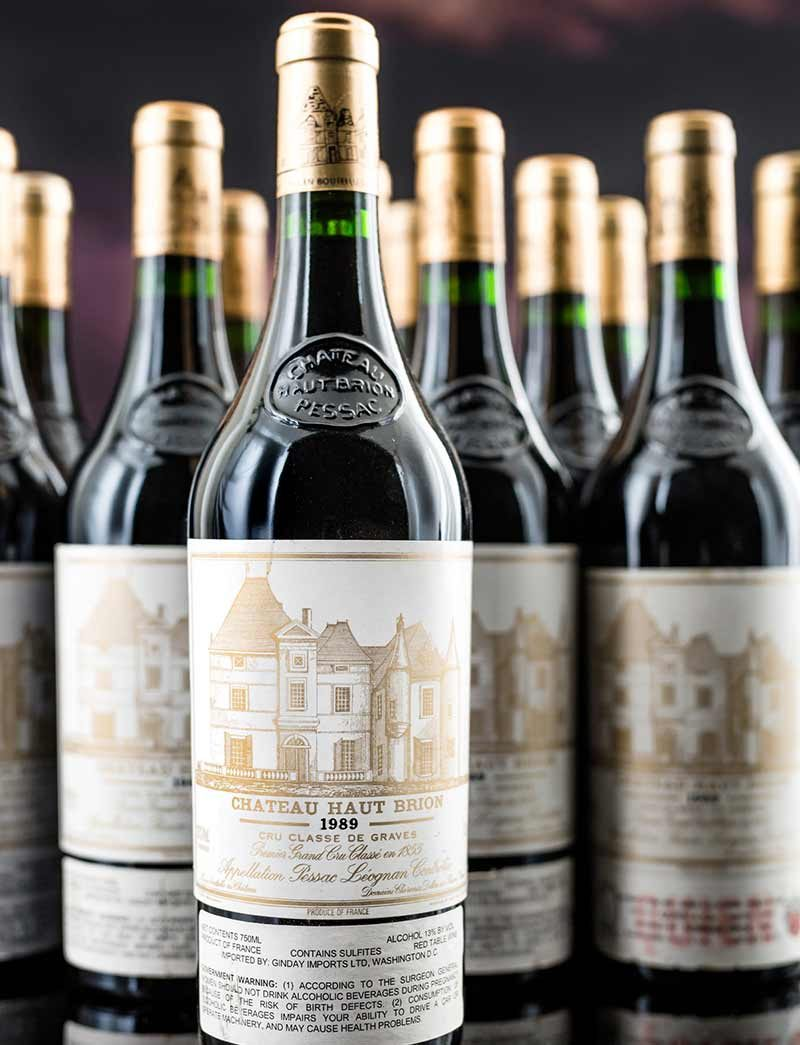 Lot 618: 12 bottles 1989 Chateau Haut Brion