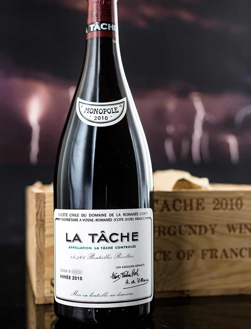 Lot 972: 3 magnums 2010 DRC La Tache in OWC
